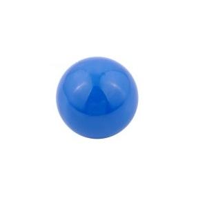Blauwe klankbol