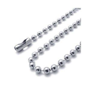 zilverkleurige-ketting-bolletjes