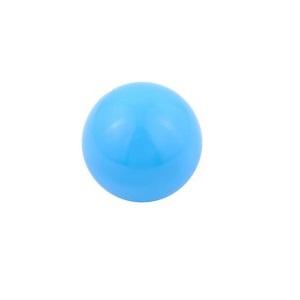 lichtblauwe klankbol