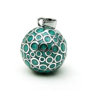turquoise-zwangerschapsbel
