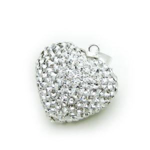 kristallen zwangerschapsbel hart