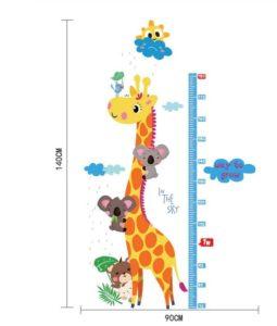 Muursticker Giraffe Kinderkamer.Kinderkamer Muursticker Giraffe Koala S Zwangerschapsbel Nl